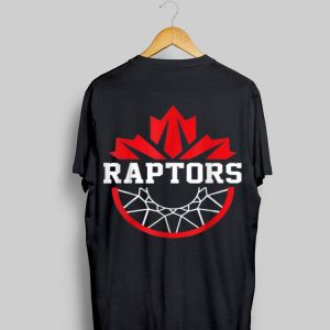 Toronto Raptor Canadian Flag Basketball shirt