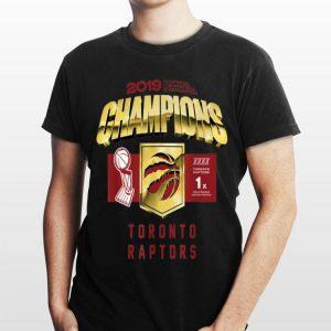 Toronto Raptor Finals Champions 2019 shirt