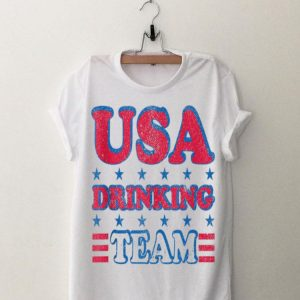 USA Drinking Team 4th of July Independence Day shirt