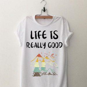 Vintage Camping Life Is Really Good shirt