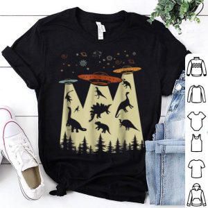 Vintage Dinosaur Alien Abduction shirt