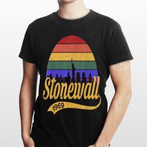 Vintage LGBT Stonewall 1969 Where Pride Began Retro 50th Anniversary shirt