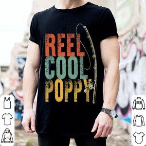 Vintage Reel Cool Poppy Fishing Pole shirt