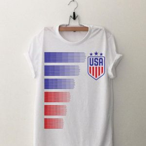 Women USA Soccer Logo France 2019 shirt