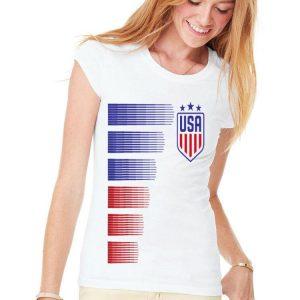 Women USA Soccer Logo France 2019 shirt