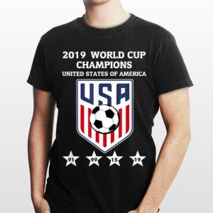 2019 World Cup Champions United States Of America Women Soccer shirt