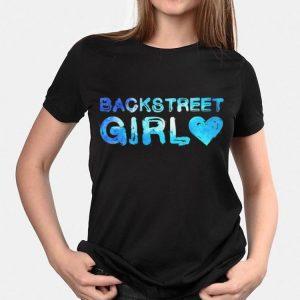 Backstreet Girl Watercolor Design 90s Music shirt
