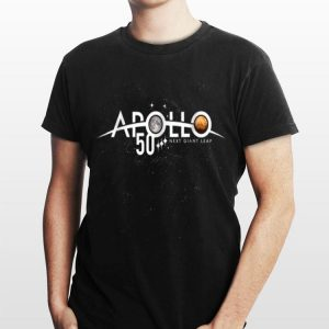 Apollo 11 50th Anniversary Moon Landing 1969 2019 Univese Nest Giant Leap shirt