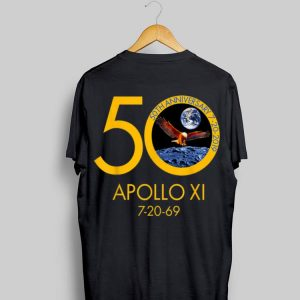 Apollo 11 Moon Landing 50th Anniversary Eagle 7-20-96 shirt
