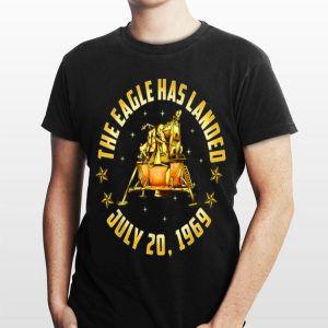 Apollo 11 The Eagle Has Landed July 20 1969 Gold 50th Anniversary shirt