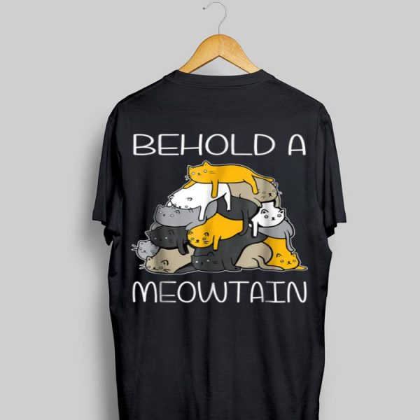 Begold A Meowtain Cat Mountain shirt