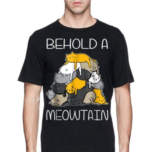 Begold A Meowtain Cat Mountain shirt