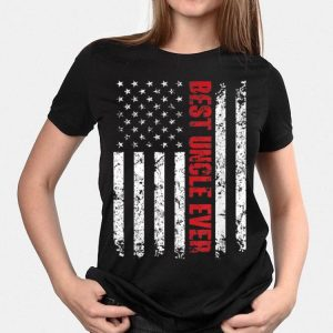 Best Uncle Ever America Flag shirt