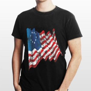 Betsy Ross Flag 13 Star Revolution 4th Of July Independence Day shirt