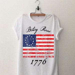 Betsy Ross Flag 1776 Vintage Revolutionary shirt