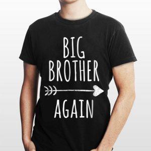 Big Brother Again Arrow And Heart shirt