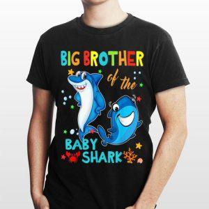 Big Brother Of The Baby Shark Birthday shirt