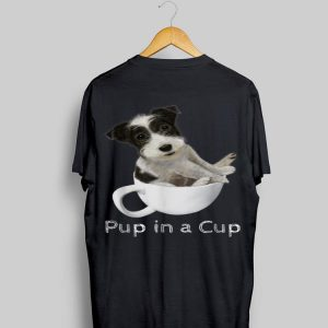 Jack Russell Terrier Puppy In A Cup shirt