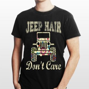Jeep Hair Don't Care Floral shirt