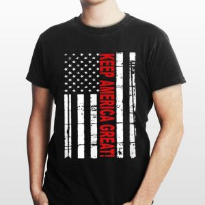 Keep America Great American Flag 2020 Presidential Support shirt