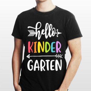 Kindergarten Hello Kinder Teacher shirt