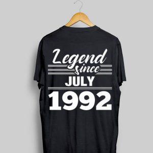 Legend Since July 1992 shirt