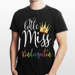 Little Miss Kindergarten First Day Of School Girls shirt