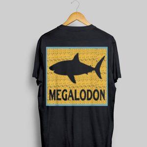 Megalodon Dinosaur Shark logo shirt