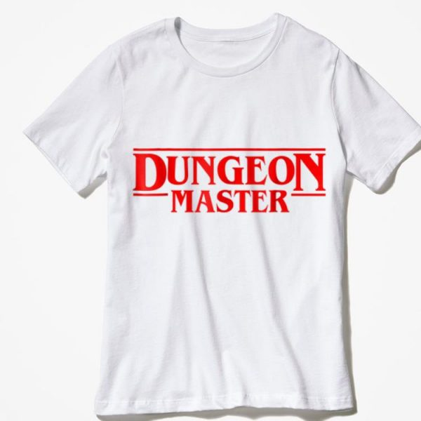 Dungeon Master Stranger Things shirt