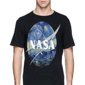 Nasa Starry Chevron Logo shirt