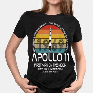 One Small Step For man On Giant Leap For Mankind Apollo 11 First Man On The Moon Vintage shirt