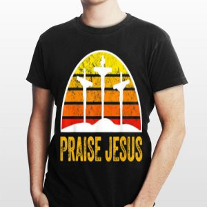 Praise Jesus Vintage Cross shirt