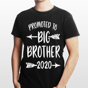 Promoted to Big Brother est 2020 Arrow shirt