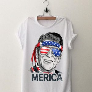 Reagan Ronald Merica 4th Of July Sunglass American shirt