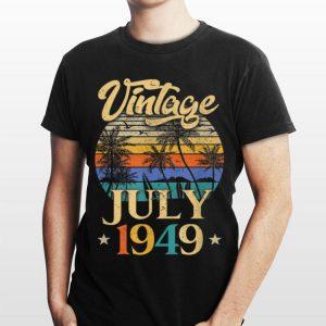 Retro Classic Vintage July 1949 Beach shirt