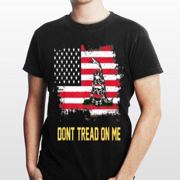 Snake Chris Pratt Don't Tread On Me American Flag shirt