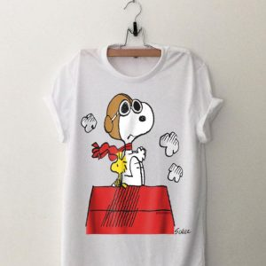 Snoopy Peanuts Flying Ace shirt