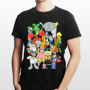 Spongebob Squarepants Cast Of Characters shirt