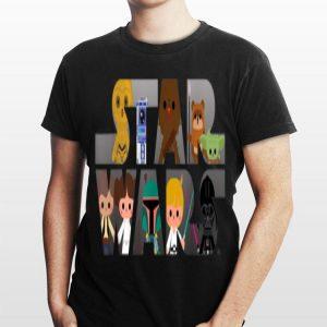 Star Wars Logo Kawaii Multi Character shirt