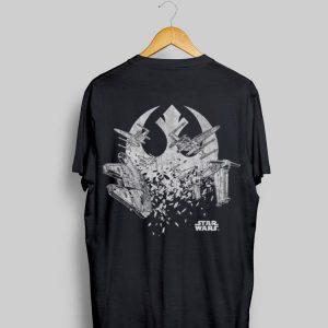 Star Wars The Last Jedi Resistance Ships shirt