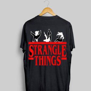 Strangle Things Brazilian Jiu Jitsu shirt