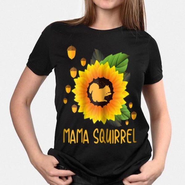Sunflower Mama Squirrel Chestnut shirt