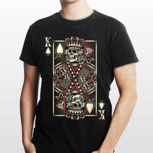 The King of Hearts Playing Card Skull shirt