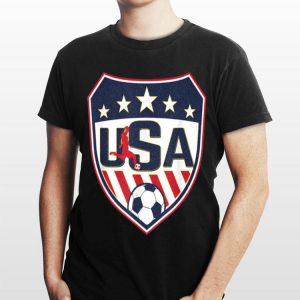 USA Shield Soccer Player Womens France 2019 shirt