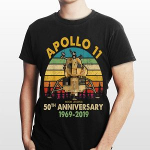 Vintage Apollo 11 Moon Landing 50th Anniversary shirt