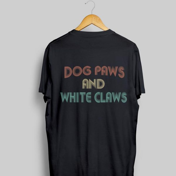 Dog Paws & White Claws Vintage shirt