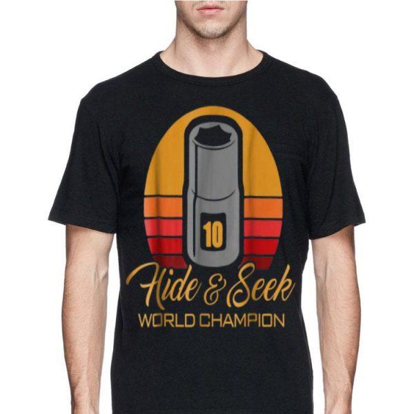 10mm Socket Hide And Seek World Champion Vintage shirt