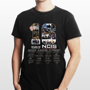 16 Years Of NCIS 2003 - 2019 Signature shirt