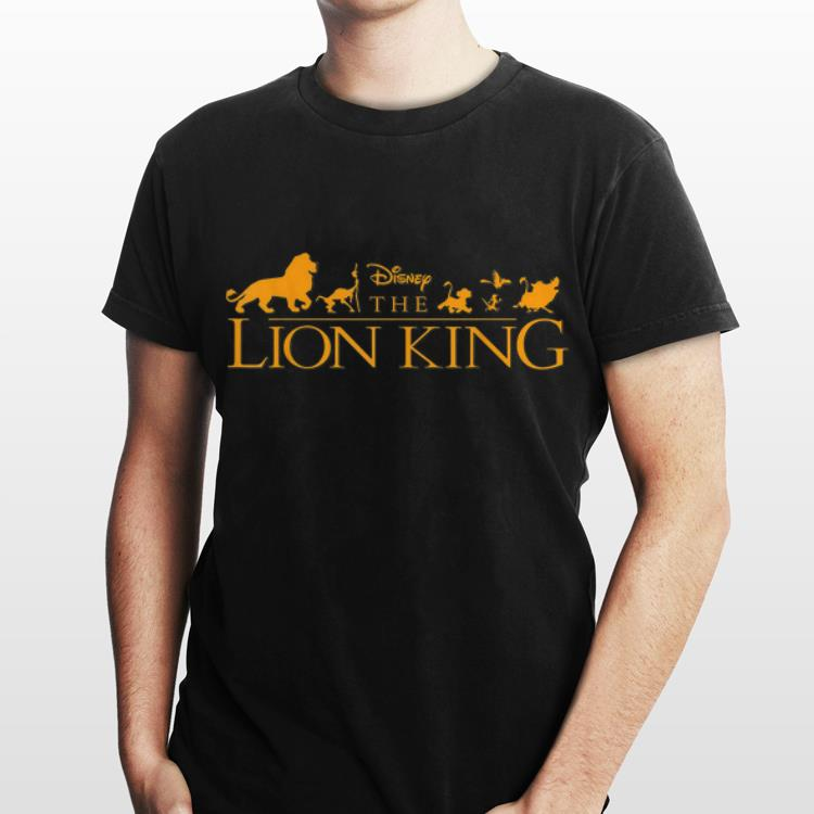 2 4 - Disney The Lion King Official Movie Logo shirt