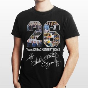 26 Years Of Backstreet Boys Signature shirt